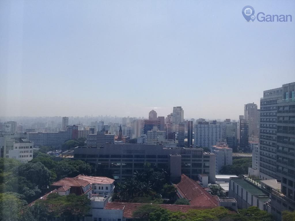 Apartamento com 3 dormitórios à venda, 118 m² por R$ 857.000 - Bela Vista, andar alto, ao lado do Hospital Alemão Oswaldo Cruz.