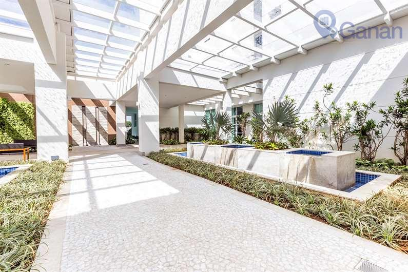 apartamento com 185 metros, entregue em 2015, 04 dormitórios, sendo 03 suítes, ar condicionado, 03 vagas...