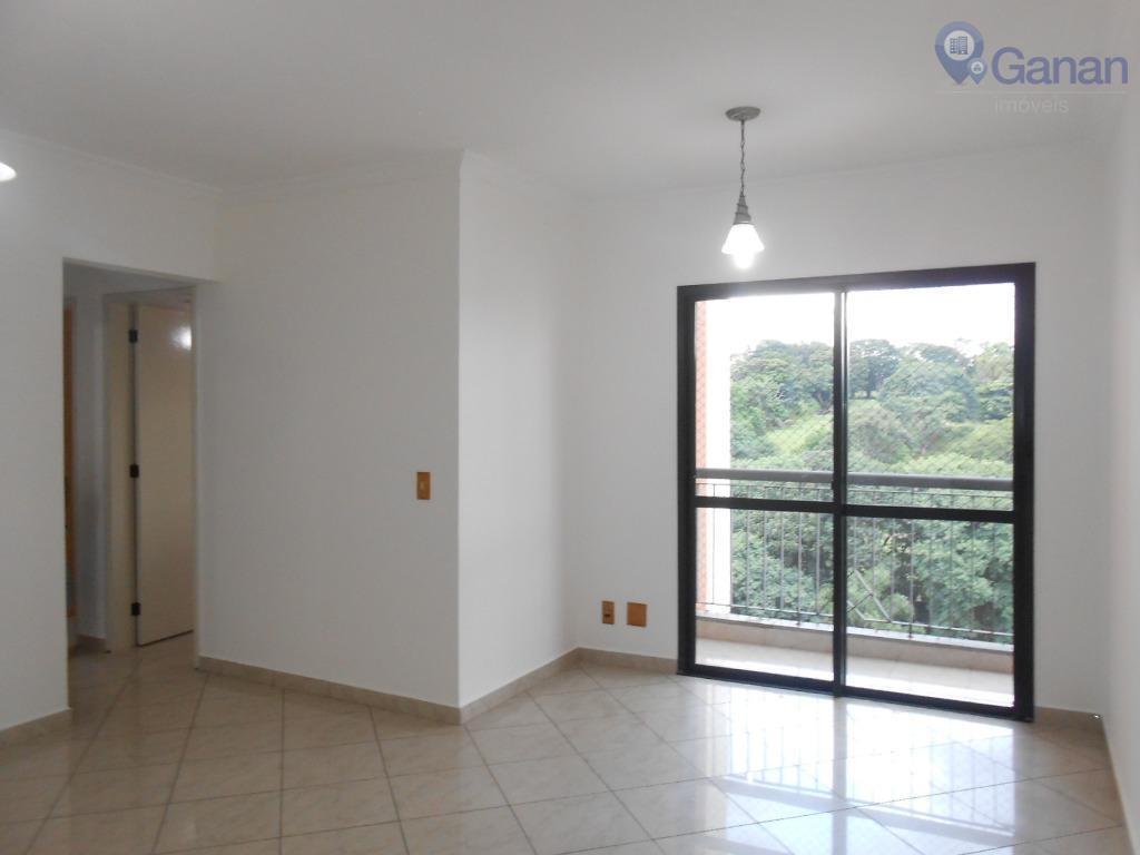 Apartamento com 3 dormitórios para alugar, 75 m² por R$ 1.600/mês - Morumbi - São Paulo/SP