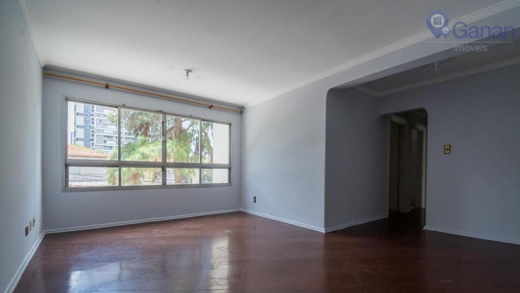 Apartamento com 3 dormitórios para alugar, 84 m² por R$ 2.500/mês - Brooklin - São Paulo/SP