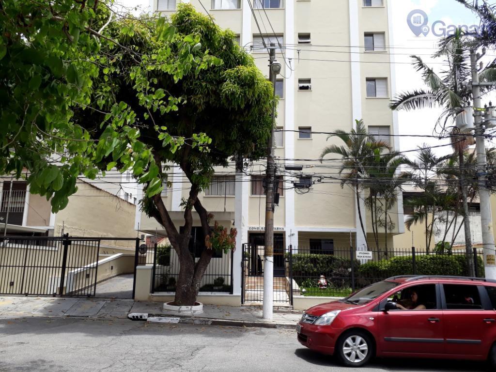 Apartamento com 2 dormitórios para alugar, 75 m² por R$ 2.400/mês - Campo Belo - São Paulo/SP
