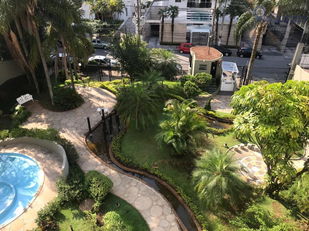 Apartamento com 3 dormitórios para alugar, 120 m² por R$ 3.000/mês - Campo Belo - São Paulo/SP