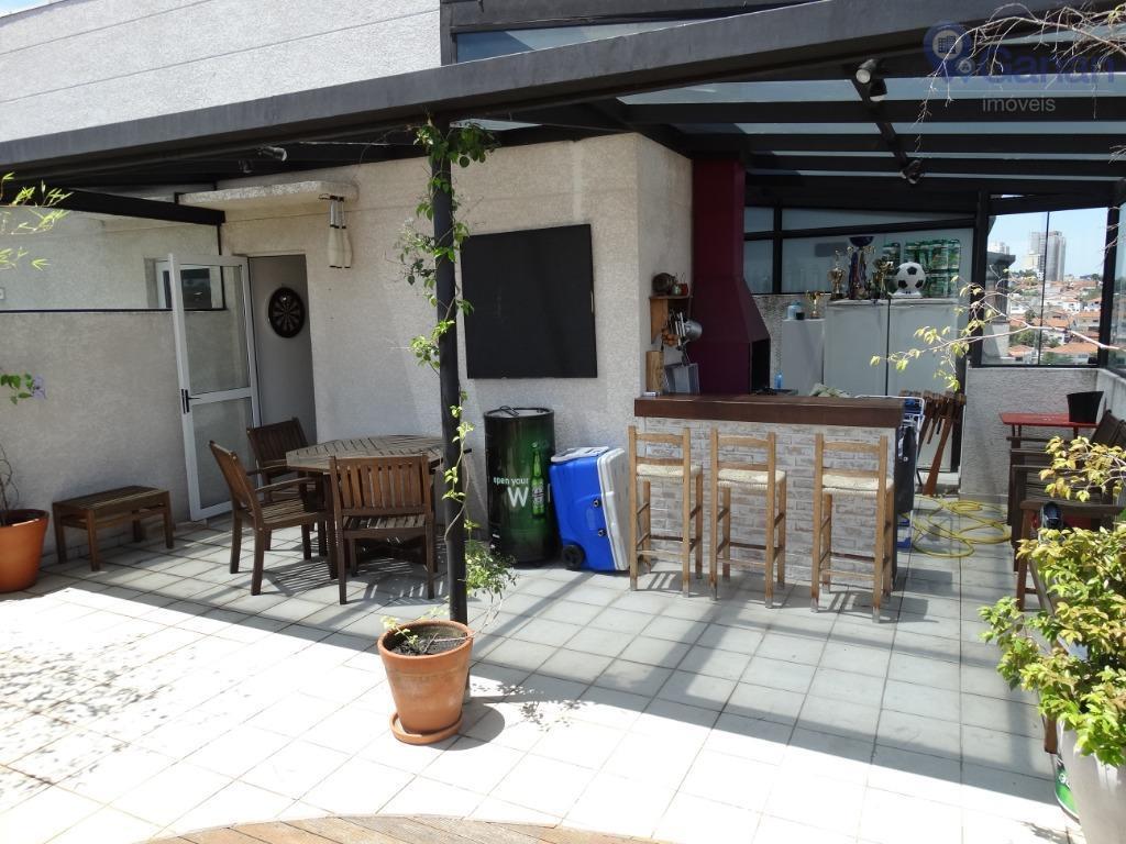 Cobertura com 3 dormitórios à venda, 118 m² por R$ 763.000 - Jardim Aeroporto - São Paulo/SP