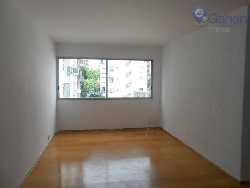 Apartamento com 3 dormitórios para alugar, 110 m² por R$ 3.800/mês - Higienópolis - São Paulo/SP