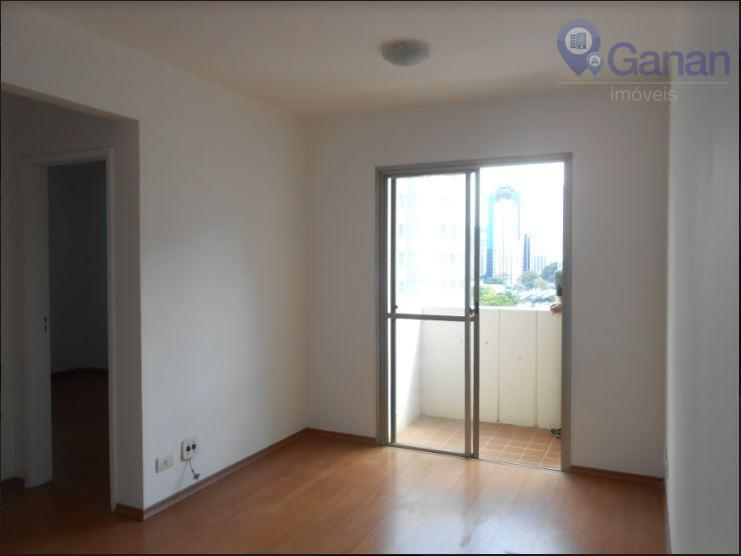 Apartamento com 1 dormitório para alugar, 42 m² por R$ 2.300/mês - Moema - São Paulo/SP