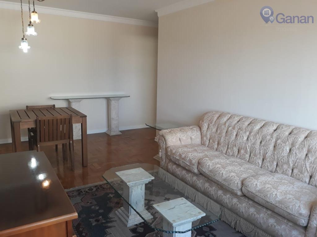 Apartamento com 3 dormitórios para alugar, 89 m² por R$ 1.800/mês - Campo Belo - São Paulo/SP