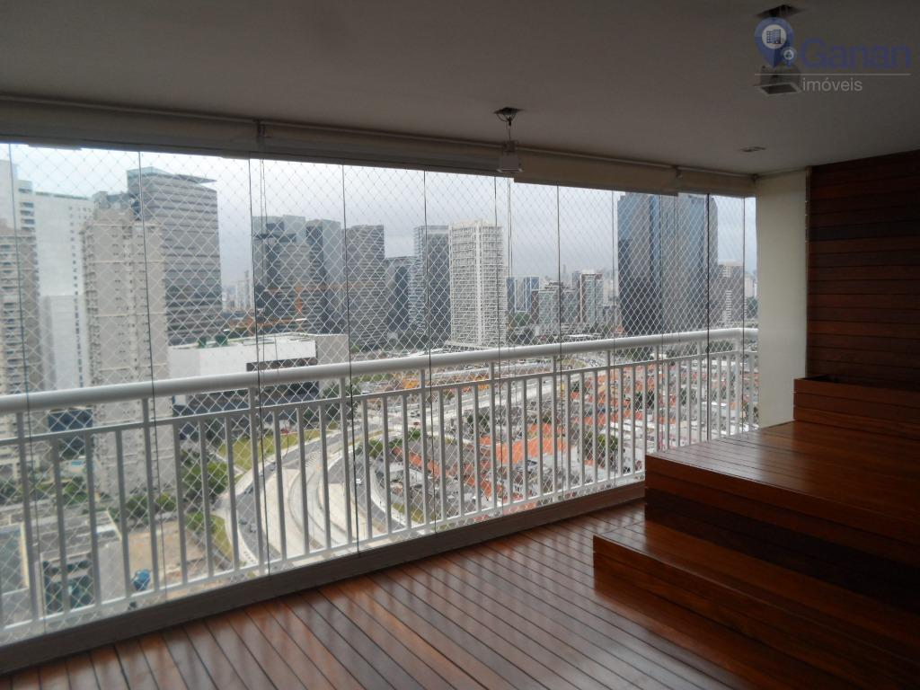 Apartamento Locação Chácara Sto Antonio, 134m2 ,03 Suítes, 02 Vagas fixas. Ar condicionado