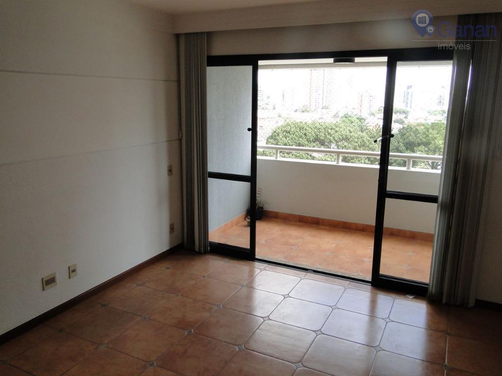 Apartamento com 3 dormitórios para alugar, 97 m² por R$ 3.800/mês - Chácara Santo Antônio (Zona Sul) - São Paulo/SP
