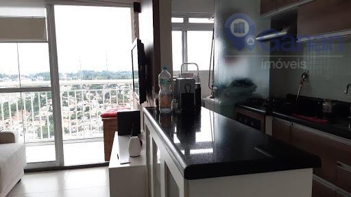 Apartamento com 2 dormitórios para alugar, 55 m² por R$ 2.270 - Vila Mascote - São Paulo/SP