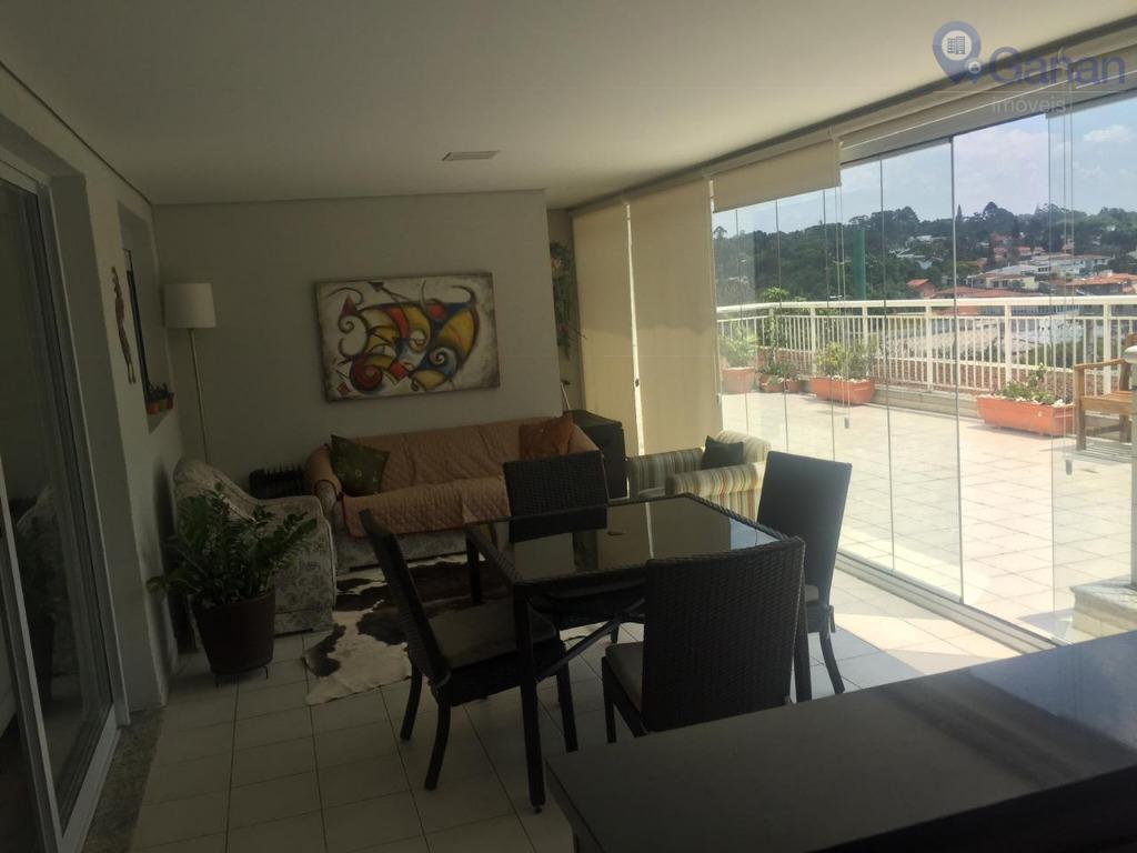 Apartamento com Garden, 3 Suítes, Terraço Gourmet.