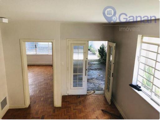 excelente sobrado comercial no brooklin paulista com 230 m² de área útil e 300 m² de...