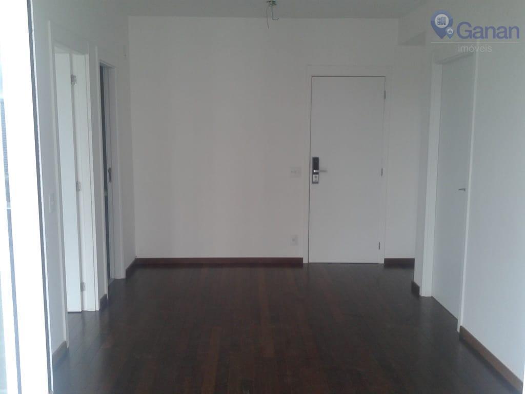 Apartamento com 1 dormitório para alugar, 55 m² por R$ 3.000/mês - Brooklin - São Paulo/SP