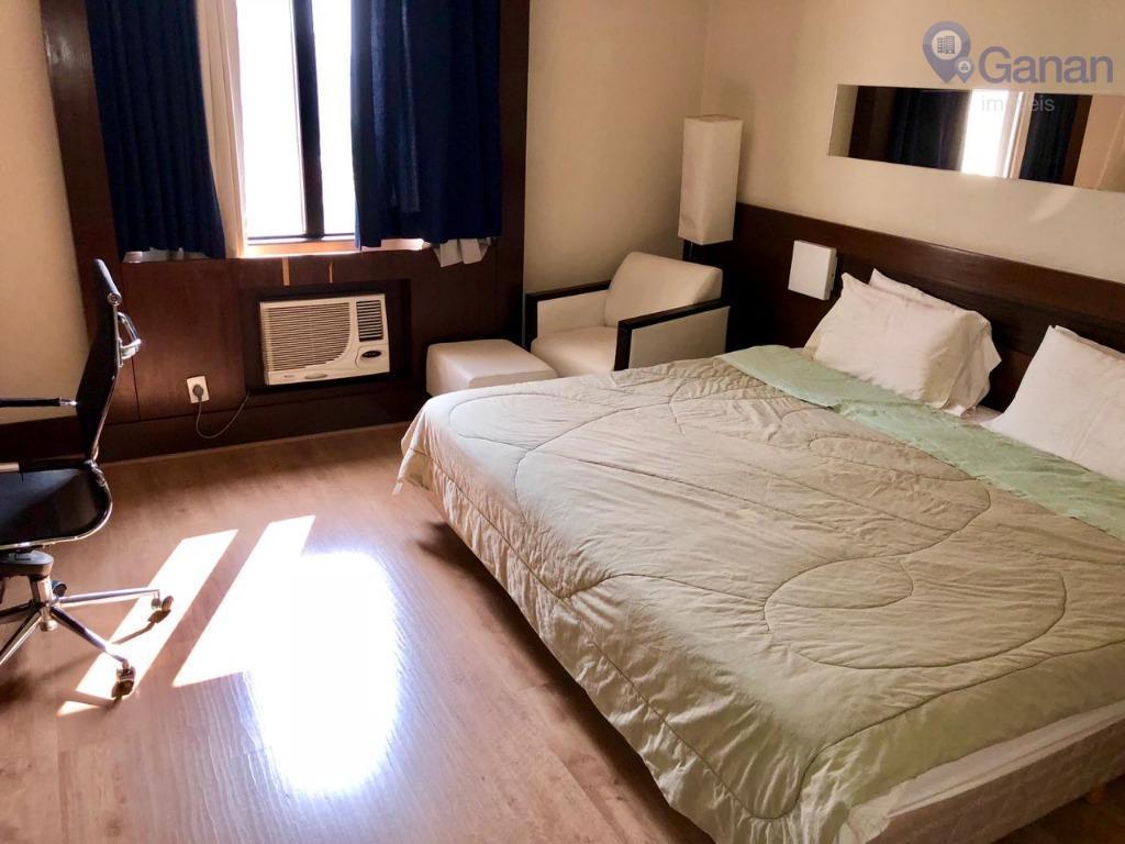 Flat com 1 dormitório à venda, 25 m² por R$ 250.000 - Campo Belo - São Paulo/SP