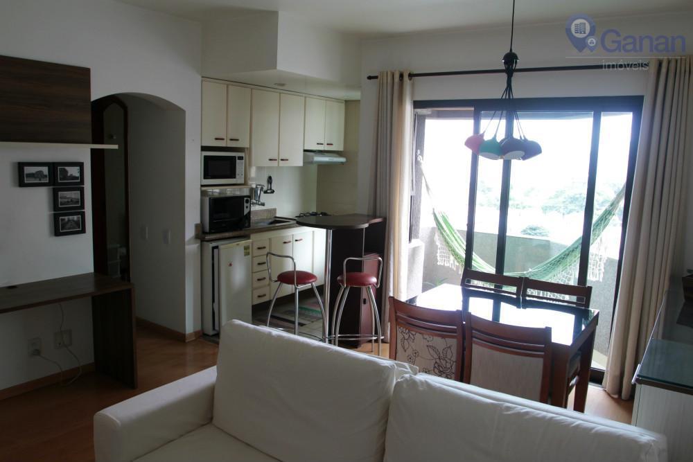 Apartamento com 1 dormitório para alugar, 54 m² por R$ 2.200/mês - Moema Pássaros - São Paulo/SP