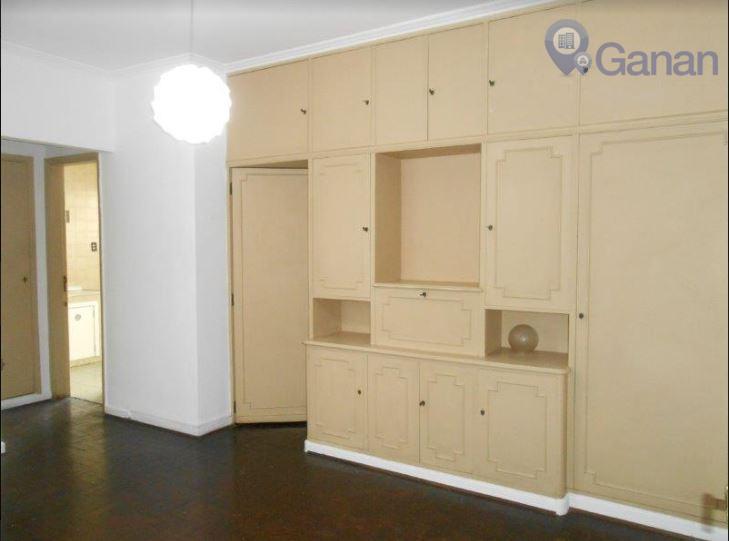 Apartamento com 1 dormitório para alugar, 50 m² por R$ 1.500/mês - Bela Vista - São Paulo/SP
