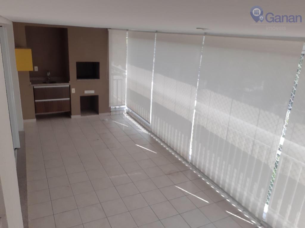 Apartamento com 4 dormitórios para alugar, 134 m² por R$ 6.000/mês - Chácara Santo Antônio (Zona Sul) - São Paulo/SP