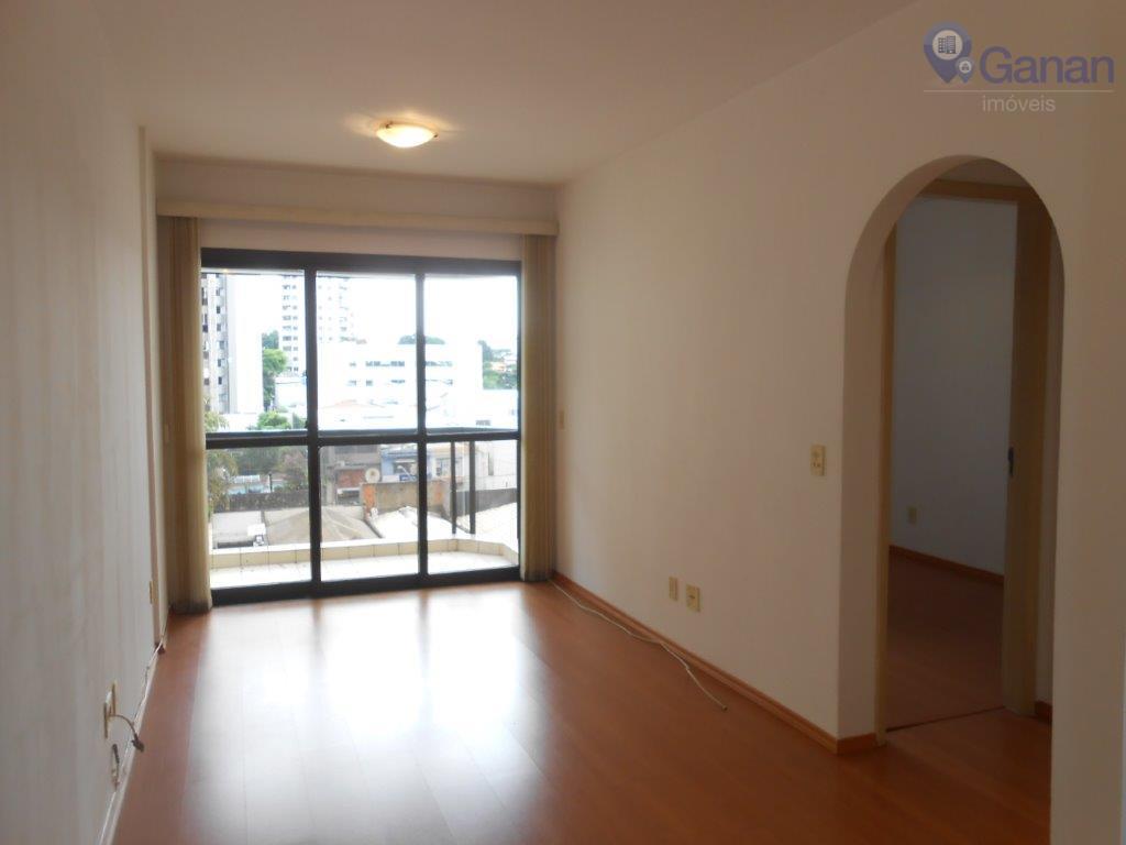 Apartamento com 1 dormitório para alugar, 41 m² por R$ 2.300/mês - Moema Pássaros - São Paulo/SP