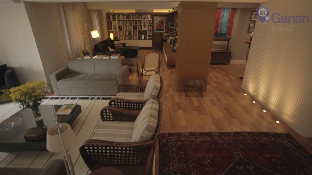 Apartamento com 3 dormitórios à venda por R$ 1.250.000 - Indianópolis - São Paulo/SP