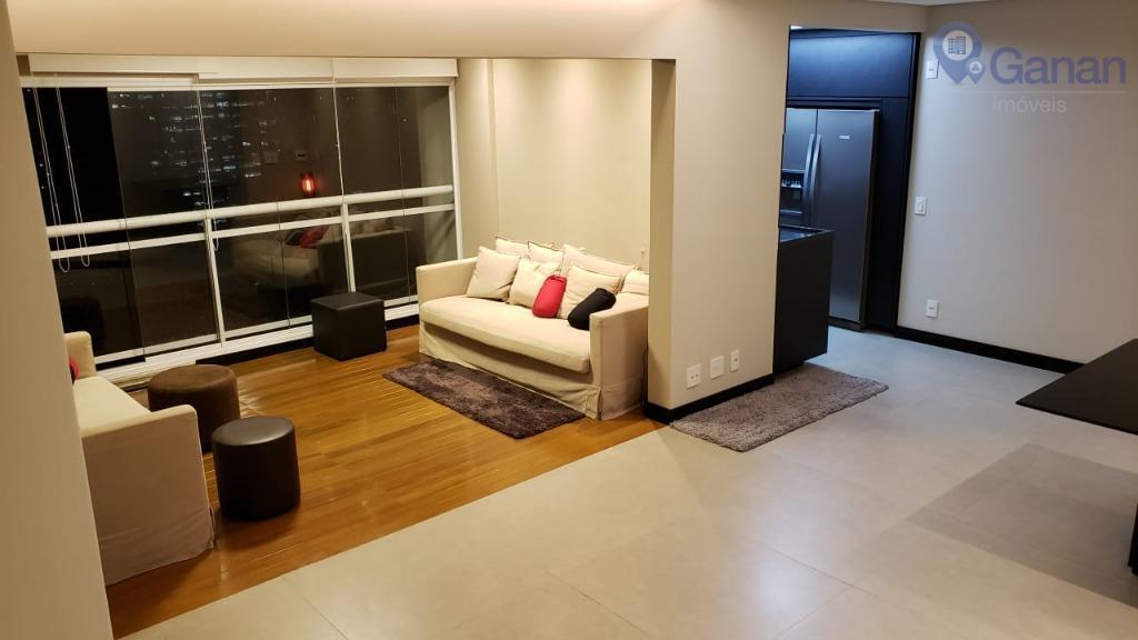Apartamento com 2 dormitórios à venda, 80 m² por R$ 1.300.000 - Brooklin - São Paulo/SP