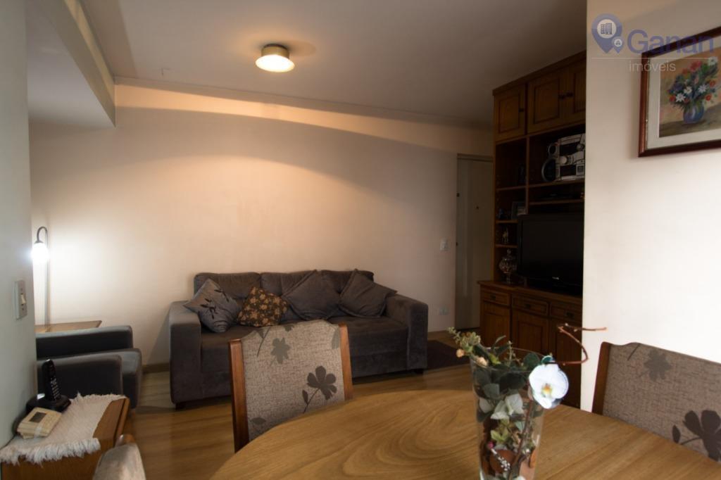 Apartamento com 3 dormitórios à venda, 70 m² por R$ 539.000 - Brooklin Paulista - São Paulo/SP