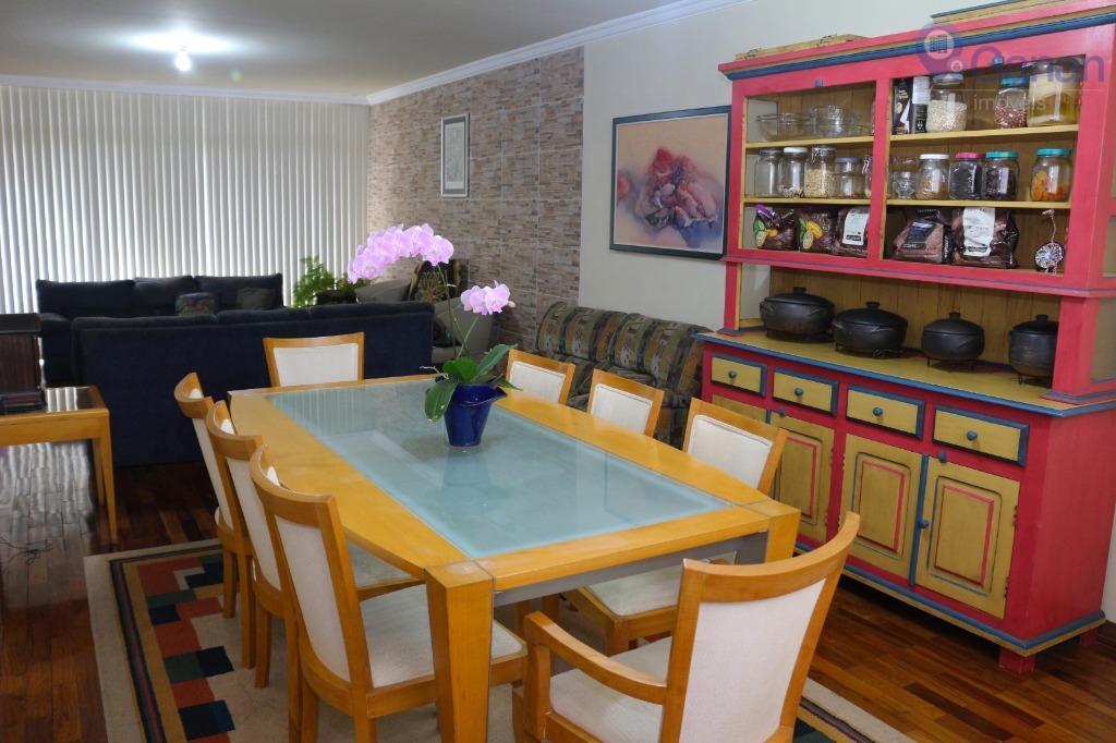 Apartamento com 4 dormitórios à venda, 181 m² por R$ 1.010.000 - Chácara Santo Antônio (Zona Sul) - São Paulo/SP