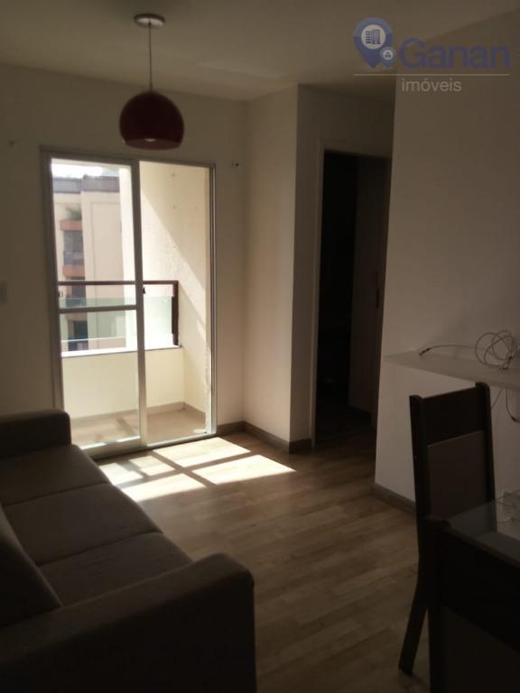 Apartamento com 2 dormitórios para alugar, 47 m² por R$ 1.850/mês - Jardim Ampliação - São Paulo/SP