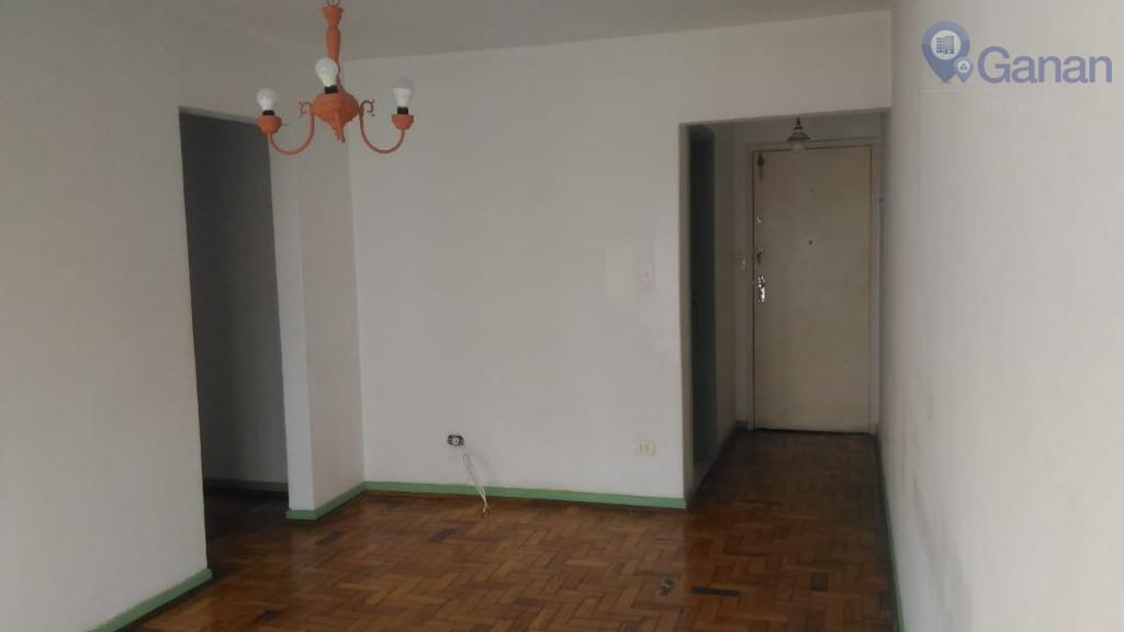 Apartamento com 1 dormitório para alugar, 56 m² por R$ 1.700/mês - Aclimação - São Paulo/SP