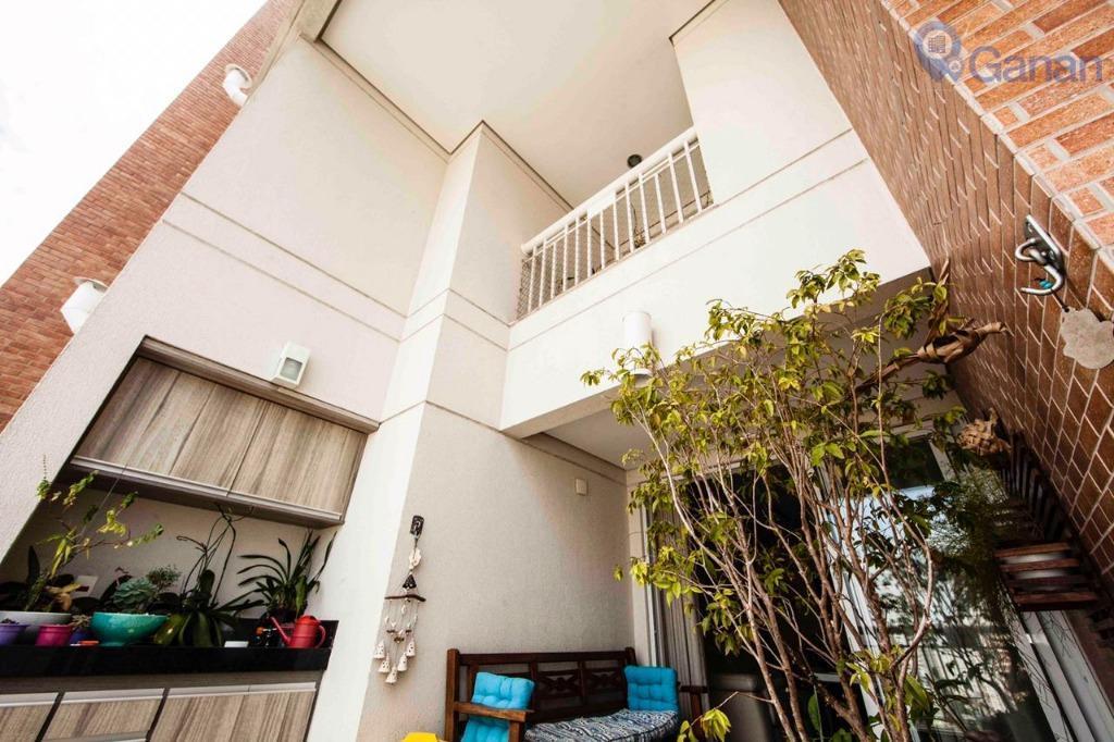 * Duplex Maravilhoso 102m2, 02 suites com varanda no Brooklin