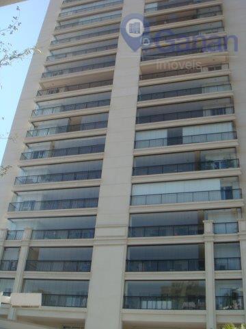 Apartamento com 159m2 04 dormts, 03 vagas e depósito, com ou sem mobilia na Chácara Santo Antonio