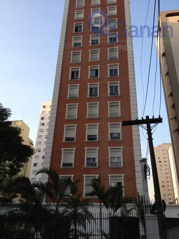 Apartamento com 3 dormitórios para alugar, 100 m² por R$ 3.000/mês - Brooklin - São Paulo/SP
