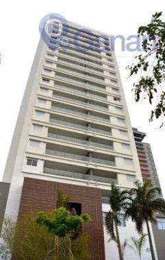 Apartamento com 1 dormitório para alugar, 51 m² por R$ 3.500/mês - Brooklin - São Paulo/SP