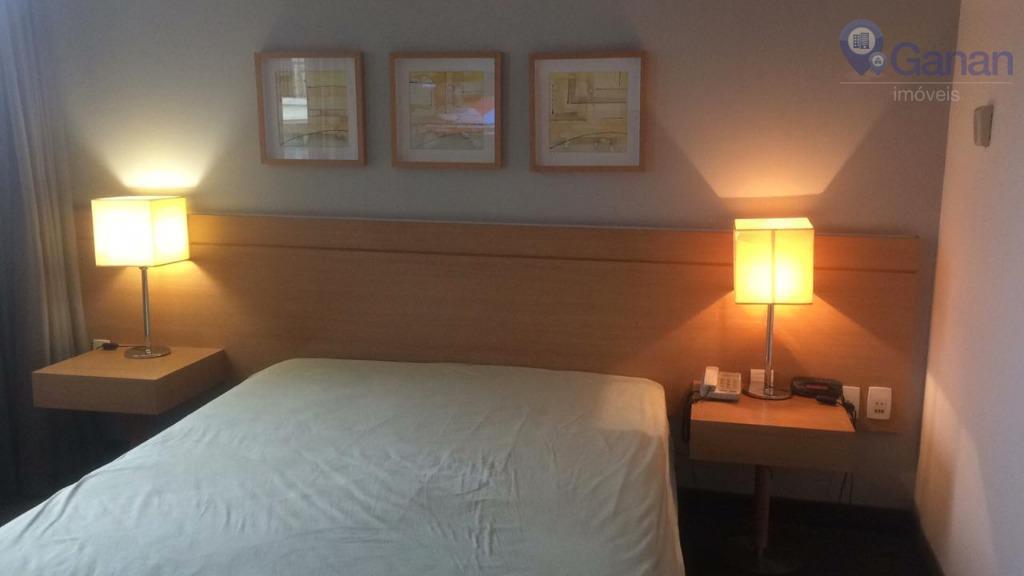 Apartamento com 1 dormitório para alugar, 30 m² por R$ 1.400/mês - Pinheiros - São Paulo/SP