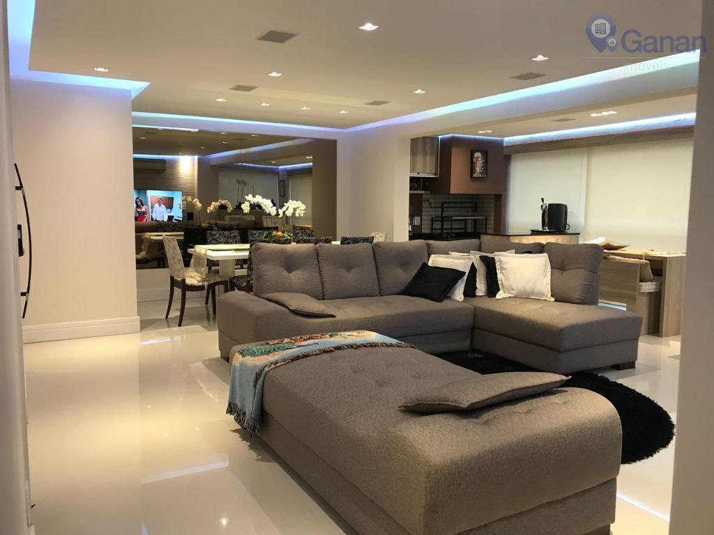 Apartamento com 3 dormitórios à venda, 138 m² por R$ 1.250.000 - Morumbi - São Paulo/SP