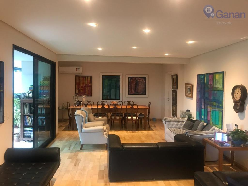 Apartamento com 4 dormitórios para alugar, 250 m² por R$ 11.000/mês - Campo Belo - São Paulo/SP