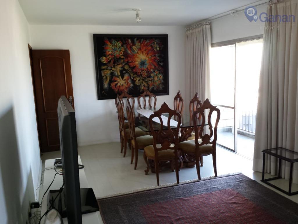 Apartamento com 3 dormitórios para alugar, 127 m² por R$ 2.500/mês - Vila Congonhas - São Paulo/SP
