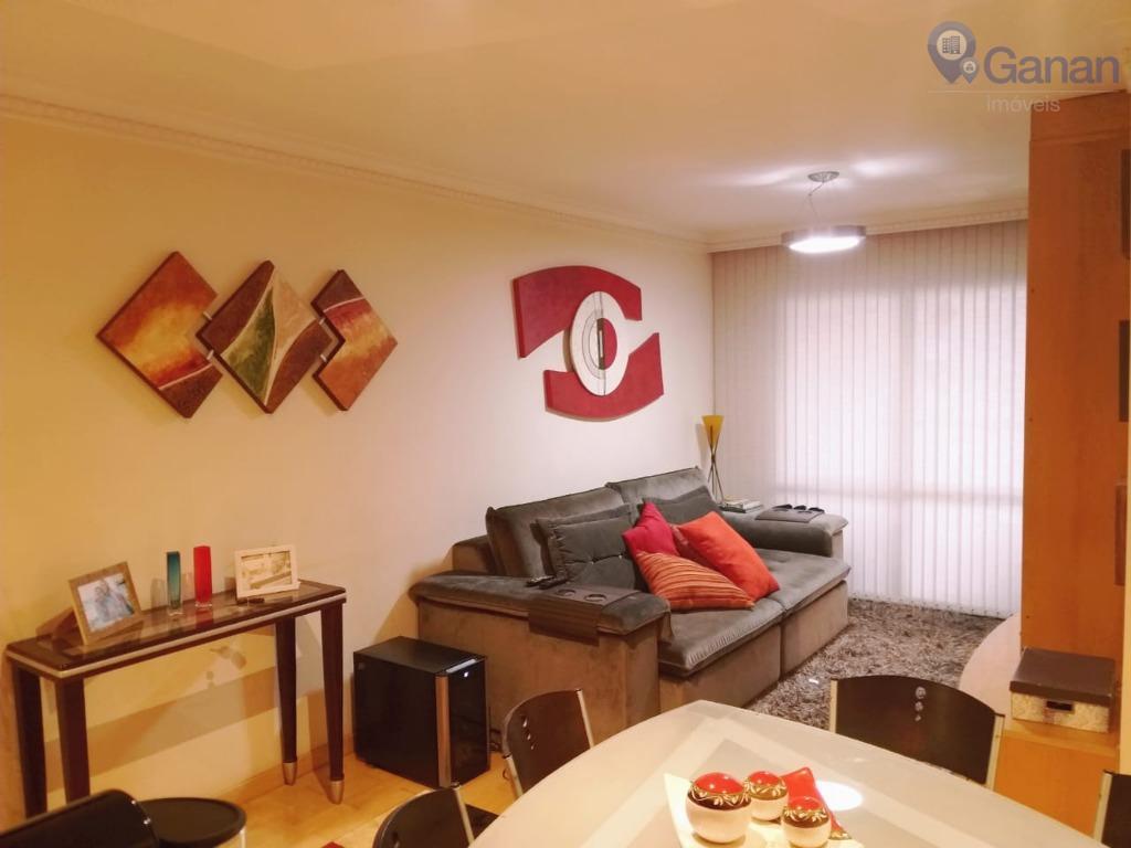 Apartamento com 2 dormitórios para alugar, 72 m² por R$ 3.500/mês - Brooklin - São Paulo/SP