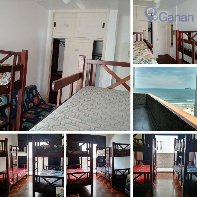 excelente apartamento no guarujá, na praia das pitangueiras, muito iluminado e arejado, com 200 m² de...