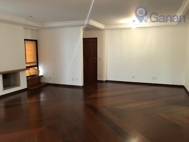 Apartamento com 3 dormitórios para alugar, 157 m² por R$ 6.000/mês - Moema - São Paulo/SP