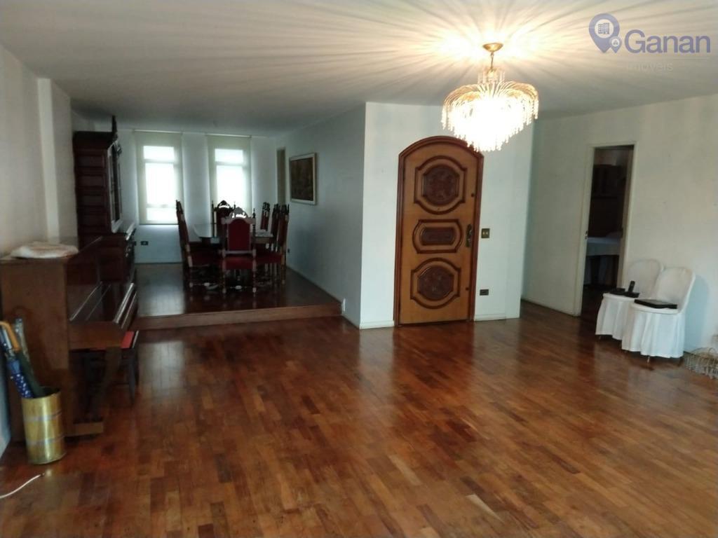 Apartamento com 4 dormitórios à venda, 205 m² por R$ 1.850.000 - Campo Belo - São Paulo/SP
