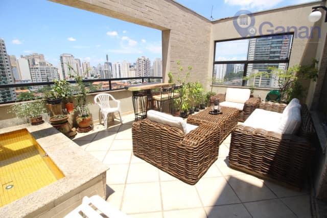Cobertura com 3 dormitórios à venda, 135 m² por R$ 1.150.000 - Campo Belo - São Paulo/SP