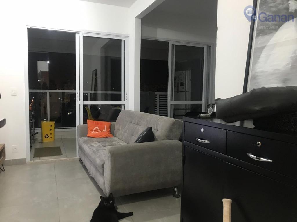 Apartamento com 1 dormitório à venda, 33 m² por R$ 480.000 - Brooklin Paulista - São Paulo/SP