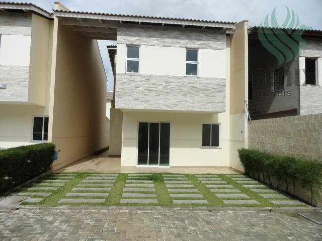Casa duplex 130 m², 3 suítes, 2 vagas, Residencial Pamplona, Guaribas, Eusébio