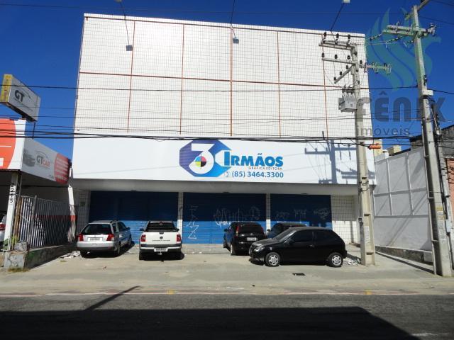 Galpão 1603m², duas frentes, próx. Domingos Olímpio, Centro, Fortaleza