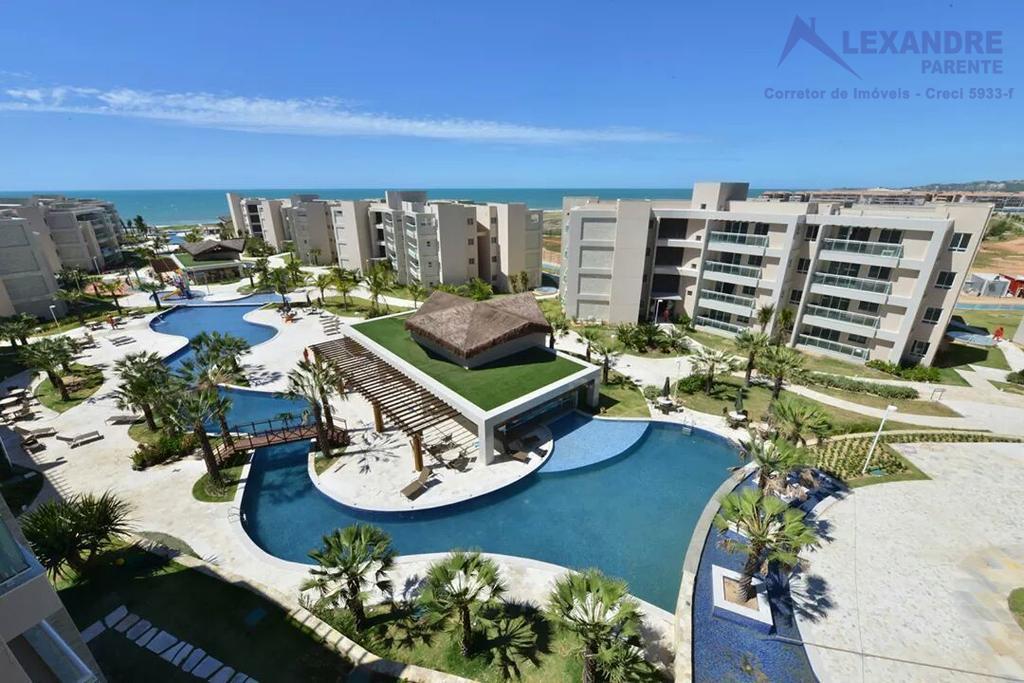Apartamento residencial para locação, Praia da Marambaia, no Aquiraz Riviera!!!