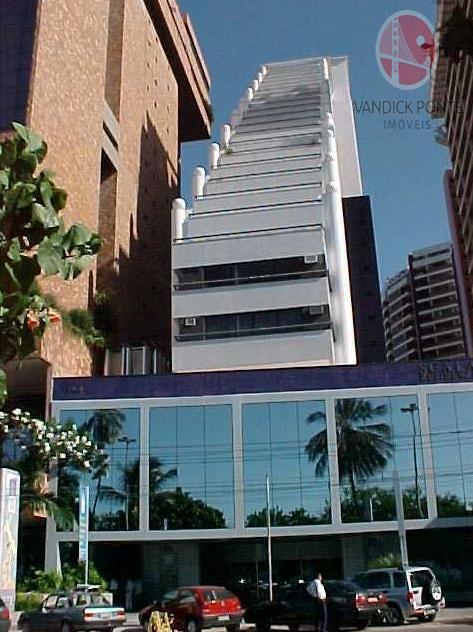 Flat residencial para locação, Mucuripe, Fortaleza.