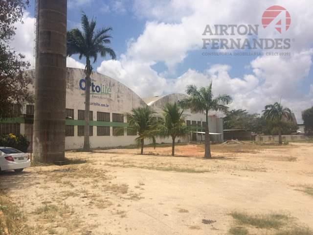 Galpão comercial para venda e locação, Jaboti, Eusébio.