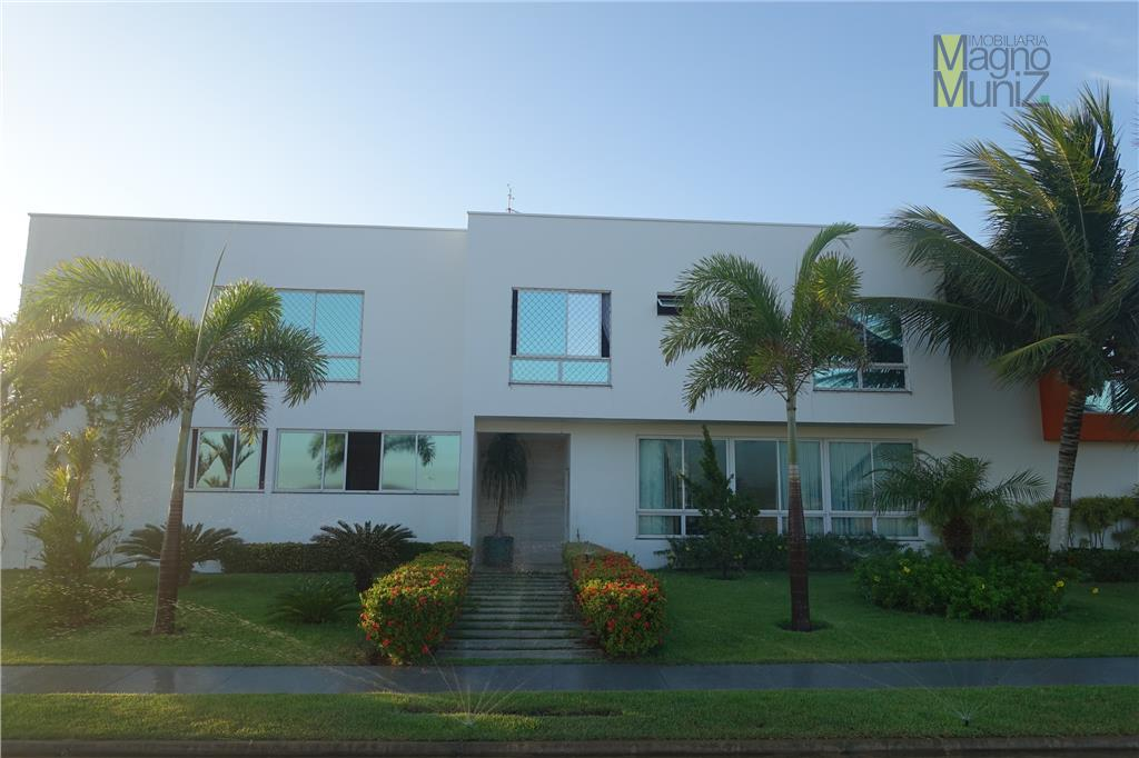 Casa residencial à venda, Condomínio Alphaville Fortaleza Residencial, Eusébio - SUPER Mansão Cinematográfica
