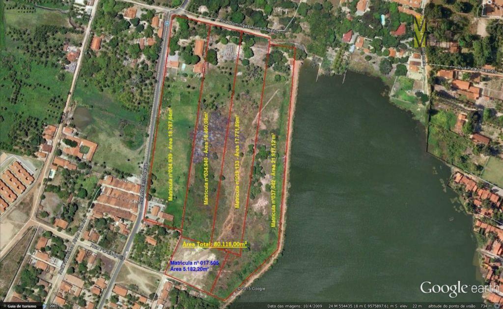 Terreno comercial à venda, Messejana - TERRENO 80.118,00 m², uma raridade
