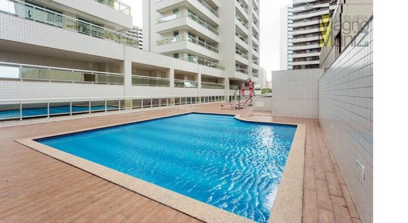 Apartamento mobiliado para alugar, Meireles, Fortaleza - AP0092.