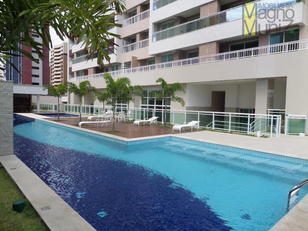 Edifício Fioretto Home Club - Apartamento  para venda no Guararapes, Fortaleza.